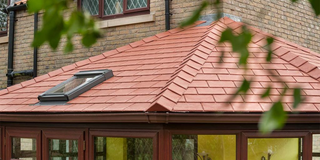 Red Tiles Featured on Solid Roof Conservatory