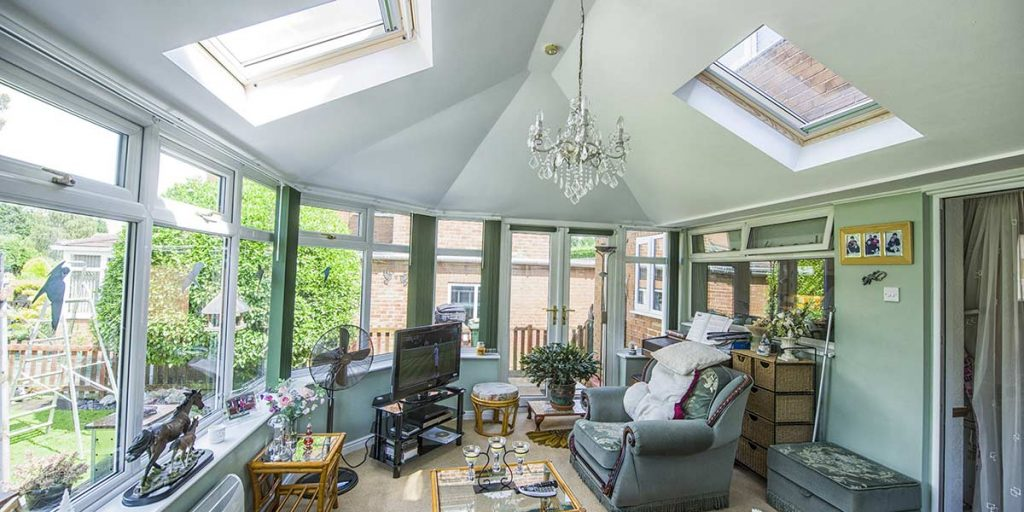 Replacement Tiled Roof Conservatory Internal