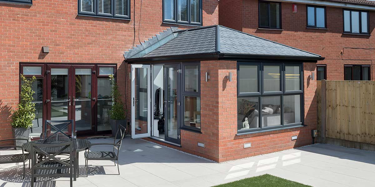 Solid Tiled Roof Conservatory Amp Orangery Gallery From