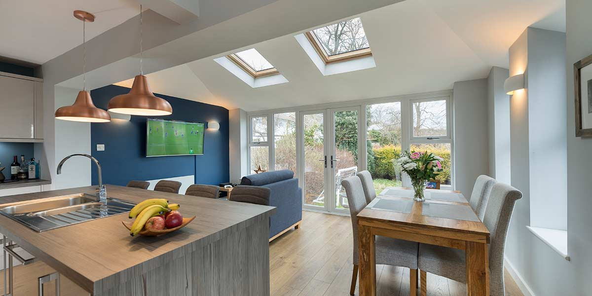 Kitchen & Dining Area Extension - Internal View